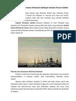 Keistimewaan Membaca Sholawat Adrikiyah Amalan Penuh Fadilah