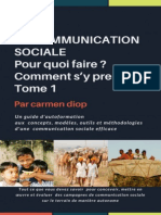 Carmen Diop L 39 Art de La Communication Sociale Pour Quoi Faire Comment s 39 y Prendre