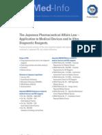 03_Japanese Pharmaceutical Affairs Law