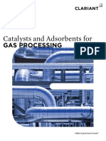Catalysts and adsorbents for gas processing