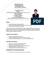 CV andres