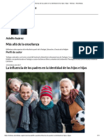 La Influencia de Los Padres en La Identidad de Los Hijos e Hijas - Noticias - Adventistas
