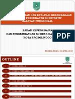 Evaluasi Jabatan Dan Evaluasi Kelembagaan Bkpsdm