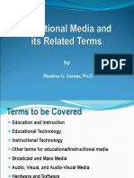 Lecture 3 Media and Related Terms