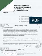 isolasi Dan Karakterisasi Bakteri Penghasil Lipase