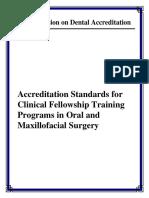 Oms Fellowship Standards