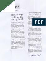 Malaya, May 8, 2019, Romero urges athletes Go for big double.pdf