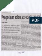 Manila Standard, May 8, 2019, Pangasinan solon, associate tagged.pdf