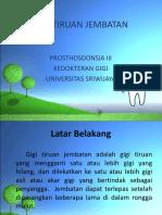 Gigi Tiruan Jembatan Klp