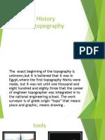 History Topografia