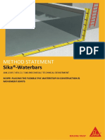 MS - Sika Waterbars_Placing in Construction & Movement Joints (v.02.2018)
