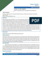KFD Case Report