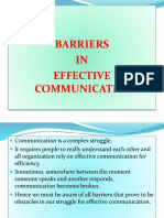 TOPIC 16 Barriers in Effective Business Communication