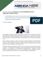 Agencia N22_ La Principal Diferencia Es...Sibilidad de Las Regiones_ Robert Soko