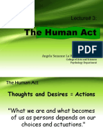 VPE 100 Lecture 3 the Human Act