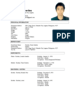 Kenneth Bordon Resume