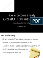 Successful HRBP