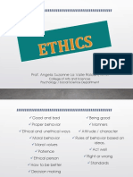 VPE 100 Lecture 1 Ethics