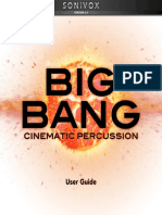 Big Bang Cinematic Percussion 2-User Guide v1