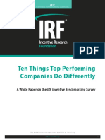 10 Things Top Performing Companies Do Differently
