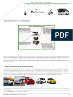 Tipos de Motores Eléctricos - Electromovilidad