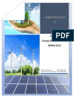 Assignment Report-2 on Renewable Energy (Course Energy & Environment ENEN 671).docx