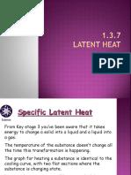 1.3.7 latent heat