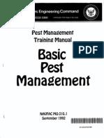 Basic Pest Management MO-310.1 - US NAVY (1992) WW