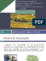 La Multifuncionalidad de La Agricultura y La Tierra.