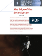 To the Edge of Solar System