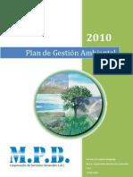 MPB - Plan de Gestion Ambiental