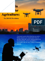 An Eye in the Sky for Agriculture