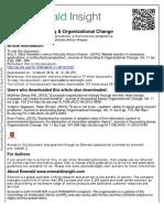 Journal of Accounting & Organizational Change Volume 11 Issue 2 2015 [Doi 10.1108_JAOC-11-2012-0107] Silva, Ana C.; Lorenzo, Oswaldo; Chavez, Gonzalo Arturo -- Market Reaction to Enterprise Applicat
