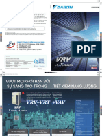 Catalogue Daikin VRV A/X (2019)