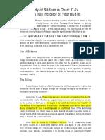 Study of Siddhamsa Chart D24