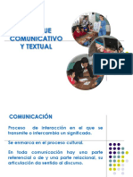 Enfoque Comunicativo Textual