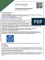 South Asian Journal of Global Business Research Volume 4 issue 2 2015 [doi 10.1108_SAJGBR-06-2014-0039] Sharif, Saqib -- Market reaction to the Karachi stock exchange floor imposition.pdf