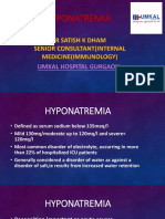 Hyponatremia | Umkal Hospital, Gurgaon