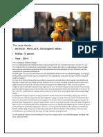 The Lego Movie Age Regulation