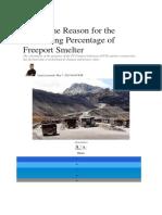 Bisnis.com - Reason for the Decreasing Percentage of Freeport Smelter