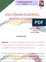 Chapter 10wallfinishesplasteringpointingpainting 180117080527