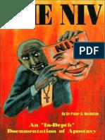 the Niv-documentation of Apostasy