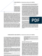 Consolidated Case Digest in Criminal Law Review (2nd Batch)