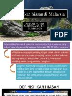 Industri Ikan Hiasan Di Malaysia