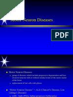 Motor Neuron Disease ALS2 081607