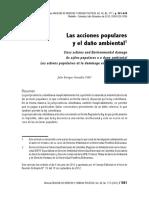 Acciones Populares y Medio Ambiente