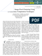 Automatic Image Pixel Clustering Using Evolutionary Computation Techniques IJERTV1IS6200