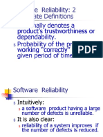 Software Relaibility Models