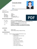basic resume for beginners