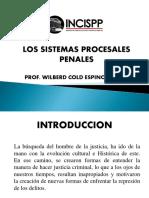 Los Sistemas Procesales Penales